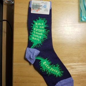 NWT - Blue Q - Women's Crew Socks